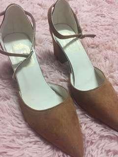 Block heels shoes 👠