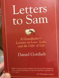 Letters from Sam by Daniel Gottlieb
