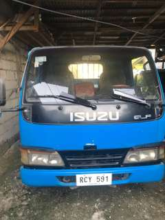 Isuzu elf 2007 4be1 in line drop side