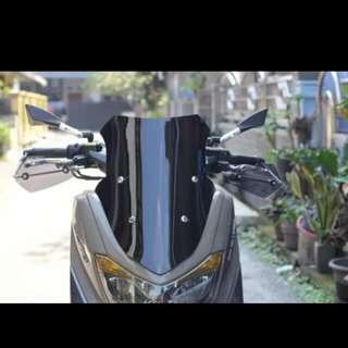 Nmax windshield sporty 45cm