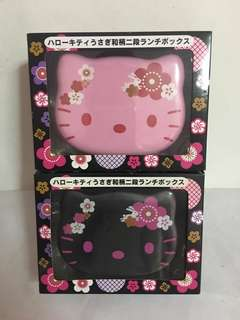 [Brand New] Hello Kitty Japanese Pattern Lunch Box