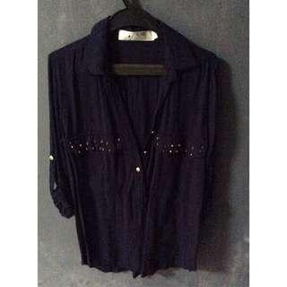 Studded blouse