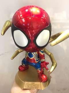 全新熱賣中最後2隻Iron Spider Cosbaby大蜘蛛俠