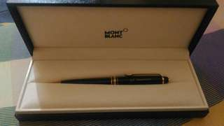Authentic Montblanc Meisterstuck Ballpoint Pen