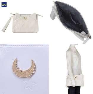 日本代購Gu x Sailor Moon 美少女戰士手提袋