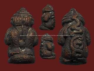 Pra Pidta Naikan LorBoran 1st batch  Porkae ChaoSaeng  Wat BaanTrang Pattani  B.E 2556  Nawak Material Made only 500pcs