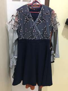New oriental embroidery dress