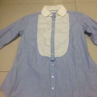 Massimo Dutti Shirt Long Sleeve Original