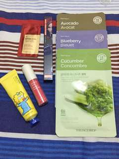 The Face Shop bundle with freebies