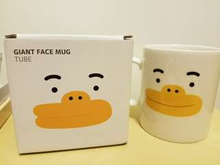 Kakao Friend Giant Face Mug ~ Tube