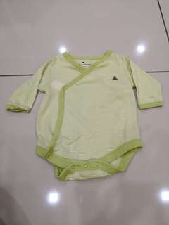 Baby Gap Green Romper(0-3m)