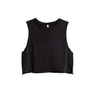 💫1 FOR $5, 2 FOR $8   H&M Cropped Muscle Tee