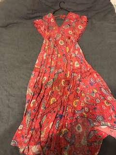 Spell and the Gypsy half moon dress Size L