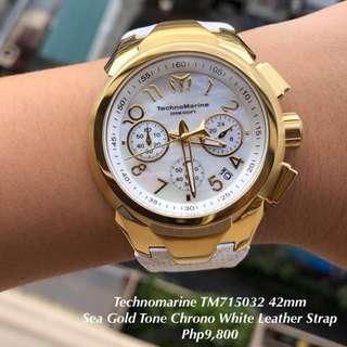Technomarine TM715032 42mm Gold Watch