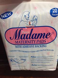 NEW Pureen Madame Maternity Pads #20under