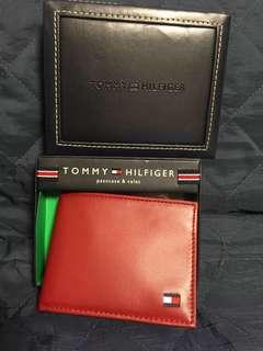 美國購入Tommy Hilfiger 真皮銀包 leather wallet