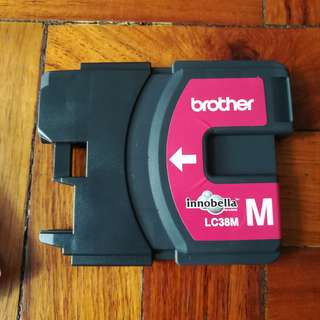 LC38M Magenta Refilled Ink Cartridge for Brother Printer