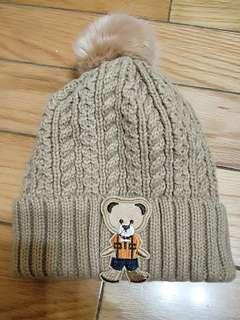 🚚 熊熊毛帽