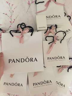 ‼️Remaining 1 Big Pandora Paperbag