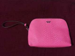 Victoria's Secret Hot Pink Cosmetic Bag
