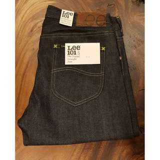 Limited Edition LEE 101S Slim Rider Japanese Denim Pants