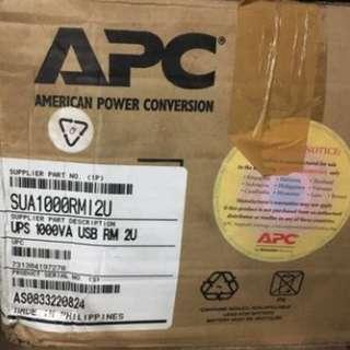 APC sua1000rm12u UPS NEW