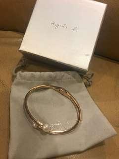 Agines b珍珠手環