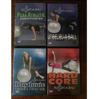 Stability Ball DVDs (Resist-A-Ball)