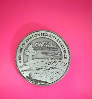 Singapore Changi Airport Limited Edition Memory Big Coin