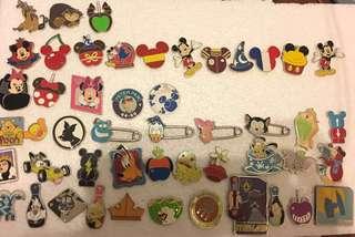 迪士尼徽章 迪士尼襟章 Disney pins for trade and sell