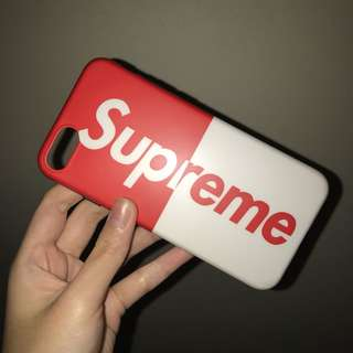 Supreme Inspired Iphone 6/7 phone cover