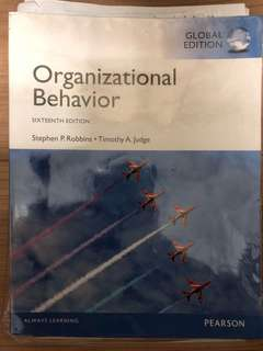 MPW textbook for SMU OBHR 101