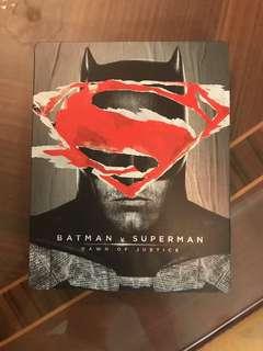 Batman v Superman: Dawn of Justice Best Buy Exclusive Steelbook blu ray