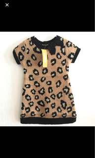 清貨優惠🎉🎉- 全部現貨一律 $59 !! 美國品牌 Gymboree - Leopard Sweater Dress