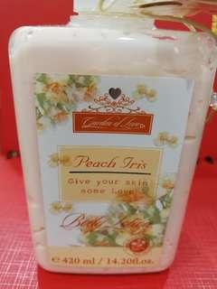 Garden of Love Body Lotion Peach Iris