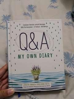 Q & A My Own Diary