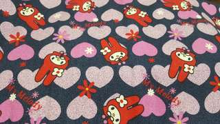 My Melody Thick Cotton Fabric 1M