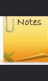 GES1028 / SSA1201 Notes for Readings Summary Finals
