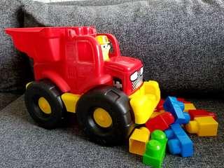 大架鏟泥車連積木