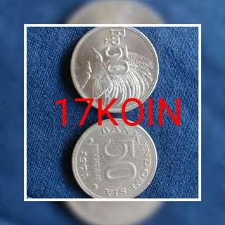 """Di jual cpt uang koin kuno .17 uang koin (50rupiah thn 1971) yu yg ska koleksi barang antik buruan di order karna stok terbatas yg minat lor tnya"""" langsung chat WA 089644442316"""