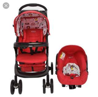 Graco Mirage Plus Circus Baby (preloved)