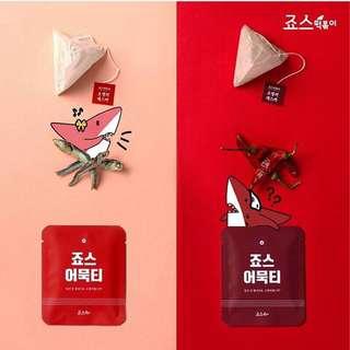 🚚 韓國代購 JAwsfoos魚板茶包袋