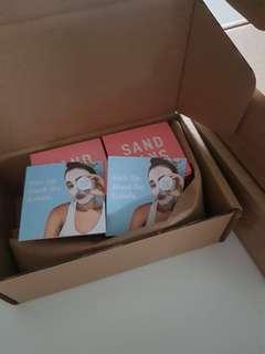 SAND & SKY pink  face mask