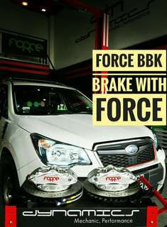 Subaru Forester SJ: FORCE Big 4 Pot BBK