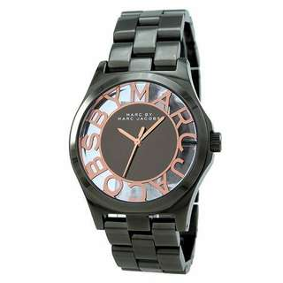 Marc Jacobs Silver Dial Women's Watch