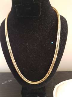 """24""""long Flat thick chain"""