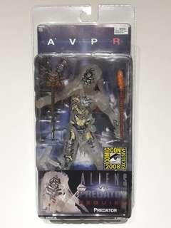 AvP Requiem Semi-Cloaked Wolf Predator (SDCC 2008 Exclusive) - Neca