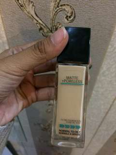 Foundation 128 Maybellin fit me #AFBakrie