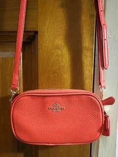 Coach Sling Bag - Bright Orange