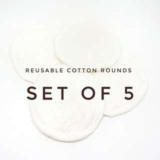 Reusable Cotton Rounds